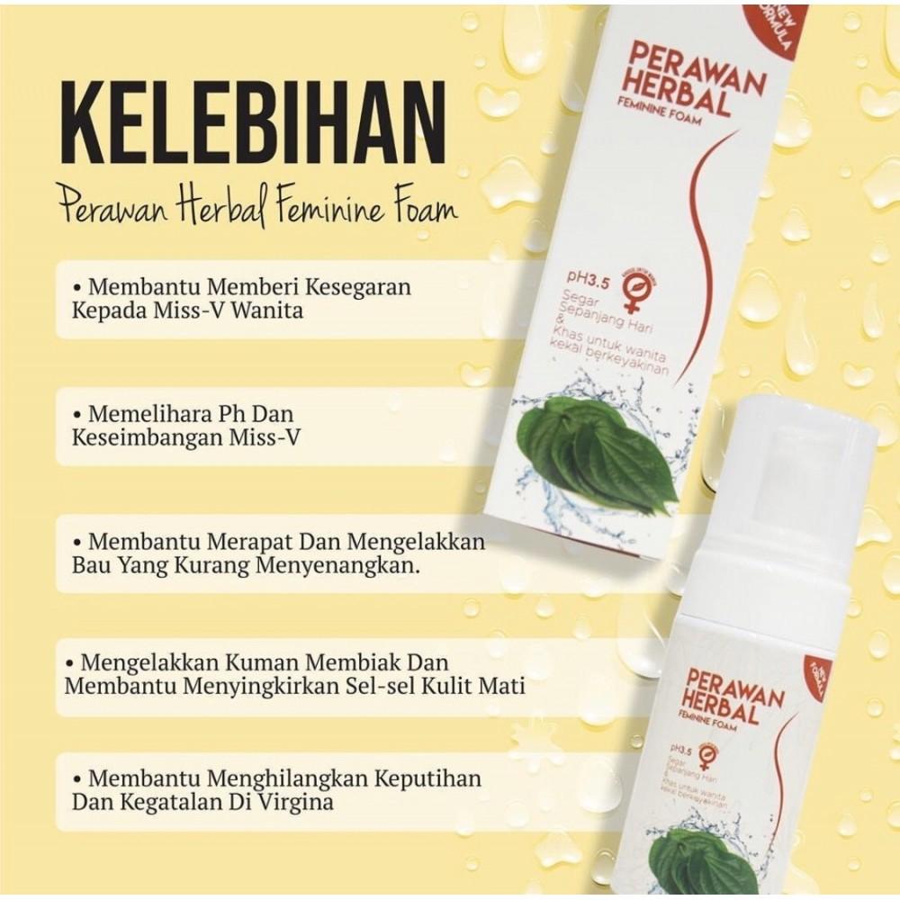 D Herbs Perawan Herbal Wash